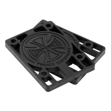 Independent Trucks Riser Pads Black - 1/4""