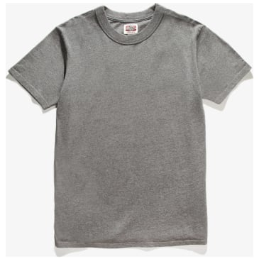 Red Ruggison Short Sleeve T-Shirt - Marl Grey