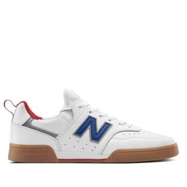 New Balance Numeric 288 Sport Skate Shoe - White / Royal Blue