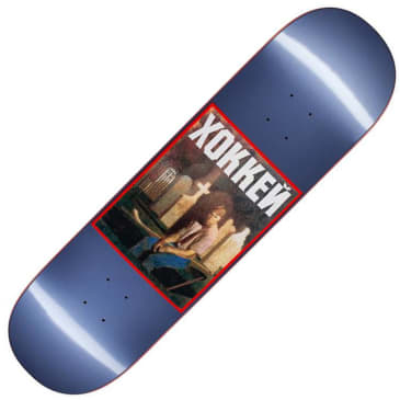 "Hockey Nik Stain Deck, metallic blue (8.5"")"