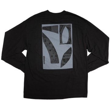 Isle Pavement Long Sleeve T-Shirt - Black