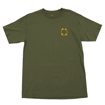 WKND - Logo T Shirt- Military Green
