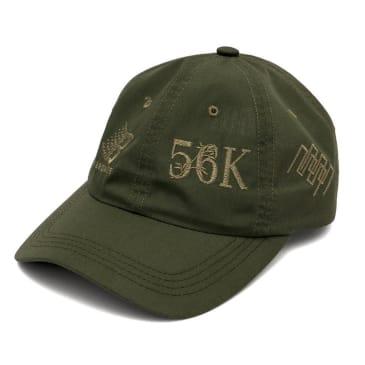 Bronze 56k Anniversary Cap - Olive