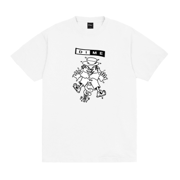 Dime Surprise T-Shirt - White