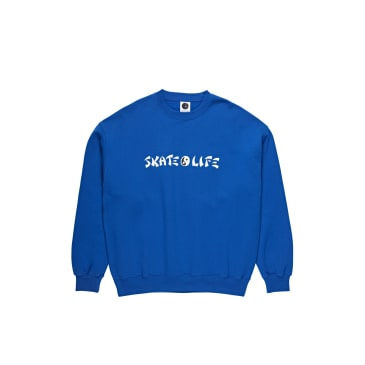 Polar Skate Co Skatelife Crewneck - Blue