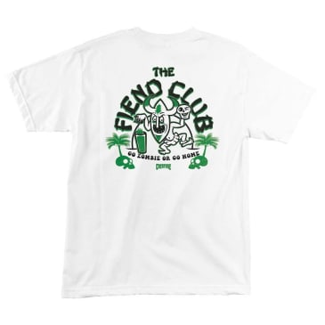 Creature Skateboards Tiki Bar T-Shirt - White