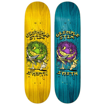 "Anti Hero - 8.12"" Grimple Stix Evan Smith Family Band Skateboard Deck"