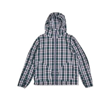 Simple Hooded Jacket Check