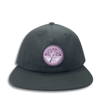 No-Comply 13th Strap Back Hat Black