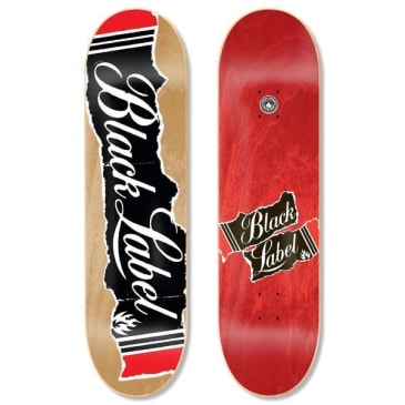 Black Label Skateboards- Old Box Deck 8.5""