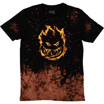 SPITFIRE 451 Tee Black/Acid Splatter