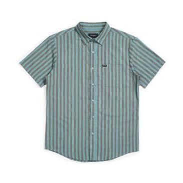 Brixton Charter Stripe S/S Woven Shirt