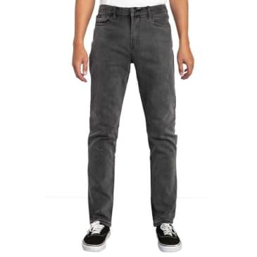 RVCA Daggers Slim Straight Fit Denim Jeans