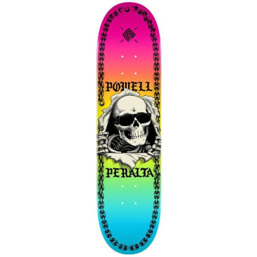 """Powell Peralta - Skull And Sword Chainz Deck 8.25"""" Wide"""