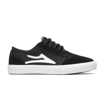LAKAI Kid's Griffin Shoes Black/White