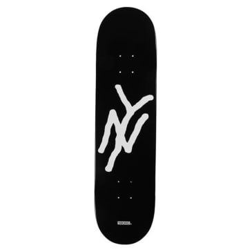 5Boro - NY Monogram Deck Black - 8""