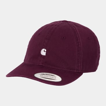 Carhartt WIP - Madison Logo Cap - Shiraz / Wax
