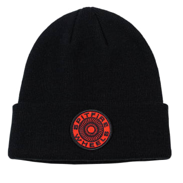 SPITFIRE Classic 87 Swirl Beanie Black/Red
