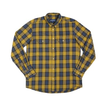 "ONLY NY - ""LODGE FLANNEL"" (OLD GOLD)"