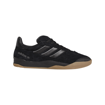 adidas Copa Nationale Skate Shoes - Core Black / Silver Metallic / Gum 2