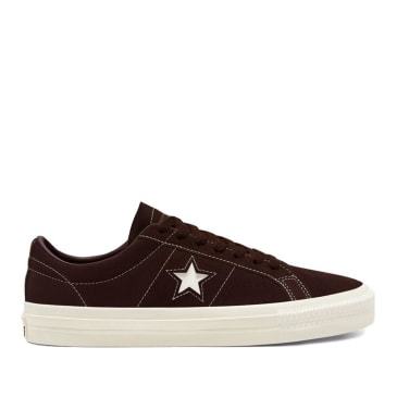 Converse CONS One Star Pro Ox Shoes - Dark Root / Egret / Egret