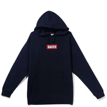 Baker Skateboards Patch Hoodie - Navy
