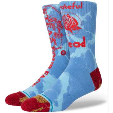 Stance - Sunshine Day Dream Socks (Greatful Dead)
