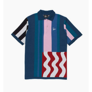 by Parra - wavy polo shirt