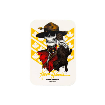 Powell Peralta Harris Mountie sticker