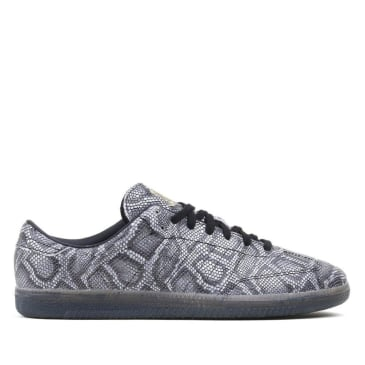 adidas Samba x Jason Dill Skate Shoe - Snakeskin / Core Black / Gold Metallic