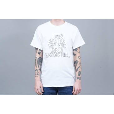 Call Me 917 Hook Up T-Shirt - White