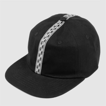 Pass Port Skateboards - Auto Ribbon 6-Panel Cap - Black