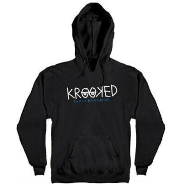 Krooked - Krooked Eyes HD/SWT BLK/WHT/NAVY (Small)