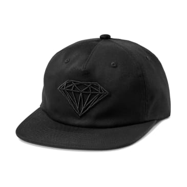 Diamond - Brilliant Unstructured Hat (Black/Khaki)