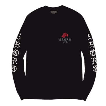 5Boro - Rose Long Sleeve Tee - Black