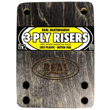 Real Risers 3-Ply 1/8'' Universal (Yellow)