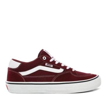 Vans Rowan Pro Skate Shoes - Port / White