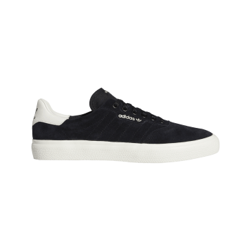 adidas 3MC Skate Shoes - Core Black / Chalk White / Chalk White