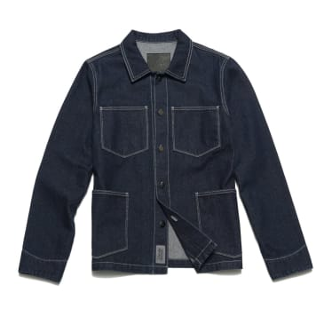 Chrystie NYC - Raw denim shirt jacket