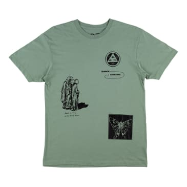 Welcome Skateboards Excess Premium T-Shirt - Sage