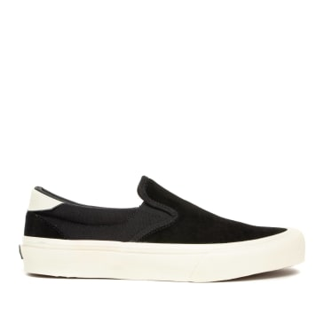 Straye Ventura Suede Skate Shoes - Black / Bone