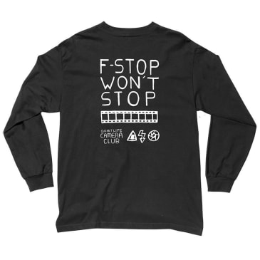 The Quiet Life F-Stop Long Sleeve T-Shirt - Black