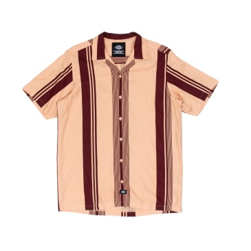Dickies Forest Park Short Sleeved Shirt - Peach Brulee
