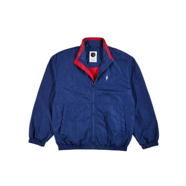Polar Skate Co Track Jacket - Blue / Red