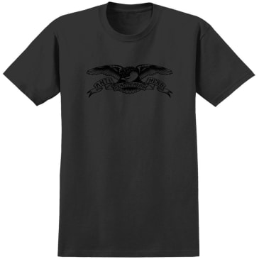 Anti-Hero Basic Eagle Tee Black/Black