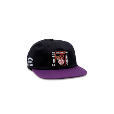 Quartersnacks - Party Cap - Black/Purple