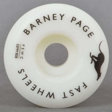 Fast Wheels - Fast Skate Wheel Co Barney Page Pro Skateboard Wheels | 52mm
