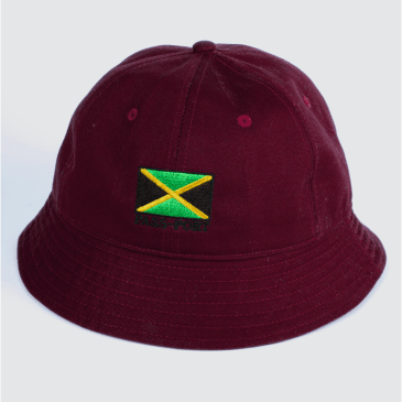 Passport Skateboards - Jamaica Twill Bucket Hat (Maroon)