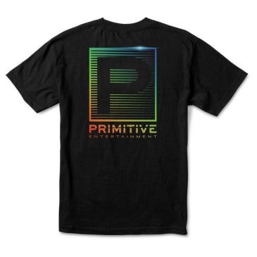 PRIMITIVE Entertainment Tee Black