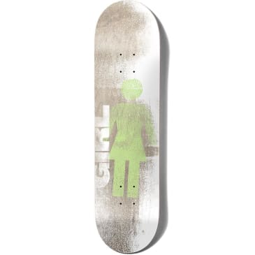 Girl Skateboards Niels Bennett Roller OG Skateboard Deck - 8.125